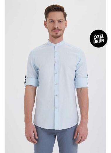 HTML Gömlek Mavi